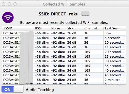 Roku Direct WiFi SSID – WLAN Book