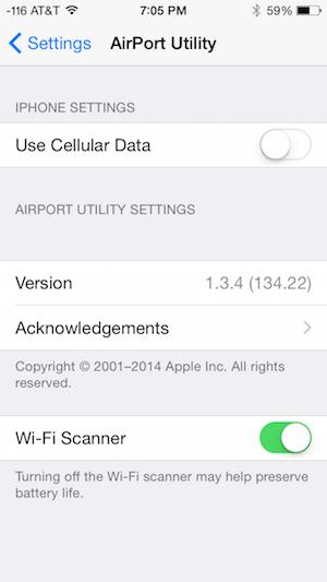 free wifi scanner iphone app